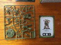 Warhammer 40k Space Marine Heroes Series 3 Plague marine with Bolter