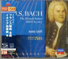 ANDRAS SCHIFF-J.S.BACH:THE FRENCH SUITES,THE ITALIAN CONCERTO-JAPAN 2 SHM-CD E91