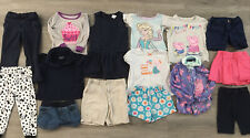 Toddler Girl Clothing Lot, 15 Items, 3T, Carter's, Disney, Healthtex, Garanimals