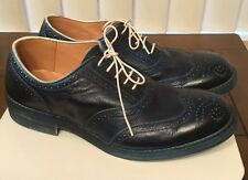 DIET BUTCHER SLIM SKIN MEN'S BLUE WINGTIPS SIZE 41 $1064