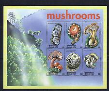 DOMINICA MUSHROOMS CHAMPIGNONS  souvenir sheet VF MNH