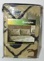 "Remington Standard 2-Pack Pillowcases 20""x 30""-Wildlife Theme  Hunting Animals"