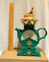 swineside teapottery large kitchen scales  teapot bnib  please read description