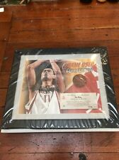 Yao Ming Uda Game Used Collection Framed 13/40 Houston Rockets