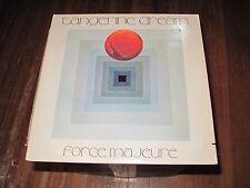 At/Gp Tangerine Dream Force Majeure Lp Vinyl Edgar Froese Chris Franke Ambient