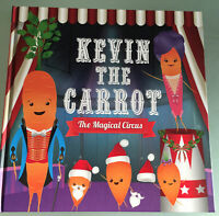 Aldi Kevin The Carrot family magical circus christmas reading Book russellsprout