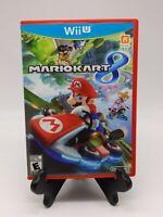Mario Kart 8 (Wii U, 2014) Complete In Box