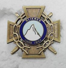 Insigne du maquis des Glières FFI - Mars 1944 - superbe Refrappe