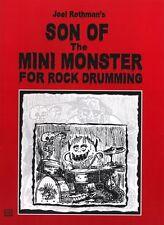 Joel ROTHMAN figlio del MINI MONSTER Play TAMBURO batteristi LIBRO MUSICA