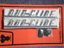 Harley panhead flh front fender name plate script duo glide emblems  59195-58