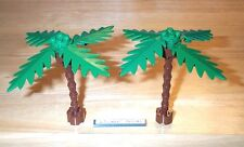 Lego Palm Trees 1 Flexible Trunk 6242 Plant Leaf Beach Paradisa Pirate