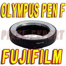 ADATTATORE OBIETTIVI OLYMPUS PEN F FUJI FUJIFILM FOTOCAMERA X-PRO1 X-E2 X-T1