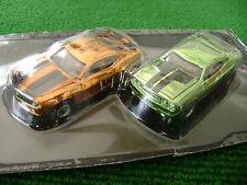 Autoworld Pair Chrome Concept Challenge Xtraction Ultra G Set Cars Ho Slot Car