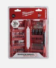 Milwaukee 4932430905 Shockwave Impact Bits and Nut Drivers Set (33 Piece)