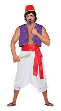 Adult Desert Prince Trousers Men Aladdin Genie Harem Pants Fancy Dress Accessory