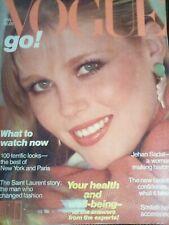 Vogue January 1980 Nancy Donahue