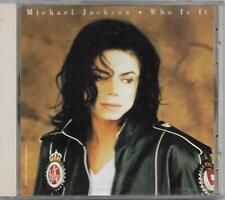 Michael Jackson Who Is It US CD Maxi-Single (1993)