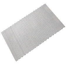 "Black Universal Aluminum Car Vehicle Body Grille Net Mesh Grill Section 40""x13"""