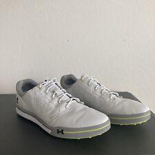 Under Armour Tempo Tour Golf Shoes White 1270207-171 Size 14