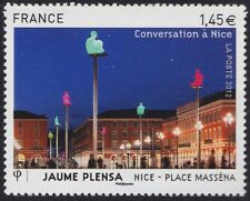 2012 FRANCE N°4683** Jaume Plensa, Nice-Place Massena Sculpture, France 2012 MNH