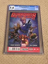 Guardians of the Galaxy 1 CGC 7.5 White Pages (Classic Cover!!)