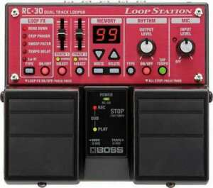 BOSS RC-30 LOOP STATION twin pedal station,ultimo pezzo disponibile,NUOVA