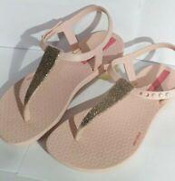 Ipanema Kids Charm flip flop Glitter Sandal Lilac pink made in Brazil 🇧🇷 girl