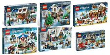 Lego Winter Christmas Sets 10199 10216 10222 10229 10235 10245 (Used)