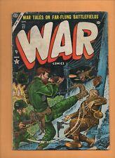 War Comics #27 Atlas Comics [later Marvel] 1954 GD
