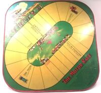 1925 Motor Race Wolverine Supply Tin Toy Lithograph Board Game Checkers Vintage