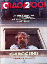 CIAO2001 37 1990 Guccini Pop Will Eat Itself Roy Harper Cale Lou Reed Mano Negra