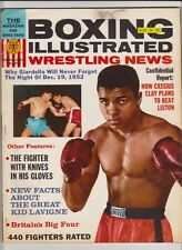 BOXING ILLUSTRATED MAGAZINE CASSIUS CLAY-MUHAMMAD ALI BOXING HOFer MARCH 1964