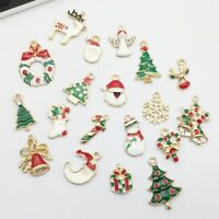 Charms Christmas Mixed DIY Pendant Jewelry Making Craft