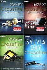 Buchset: 4 Bücher von Sylvia Day - Crossfire Band 1 - 4