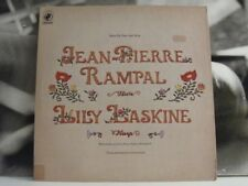 JEAN-PIERRE RAMPAL / LILY LASKINE - MUSIC FOR FLUTE AND HARP - LP VERY GOOD+ USA
