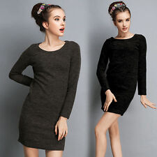 Nylon Scoop Neck Stretch, Bodycon Short/Mini Women's Dresses