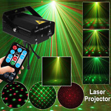 R&B DJ Disco LED Light Mini Laser Projector Stage Lighting Xmas Show Party UK