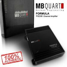 Brand New MB Quart Formula FX2.60 240W A/B Class 2 Channel Car Stereo Amplifier