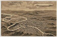 Westfront ZEPPELIN ÜBER PARIS / AIRSHIP WW I * Künstler-AK um 1910 - EUGEN FELLE