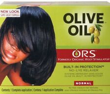 Orgánicos raíces Estimulador (RUP) Aceite de oliva Cabello Alisadora sin lejía-Normal Todo En Uno