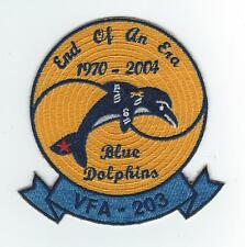 "VFA-203 1970-2004 ""END OF AN ERA""  patch"