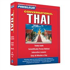 New 8 CD Pimsleur Learn to Speak Thai Language ( 16 Lessons)