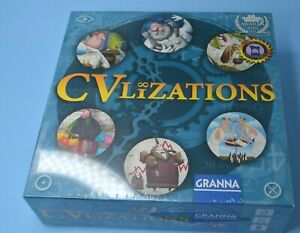 CVlizations Board Game strategy  SEALED 2016 family game