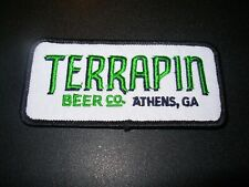 TERRAPIN CO Athens Georgia Logo Embroidered rec PATCH craft beer brewing brewery