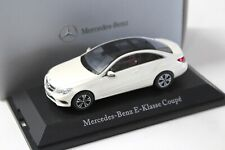 1:43 Kyosho Mercedes E-Klasse Coupe white DEALER NEW bei PREMIUM-MODELCARS