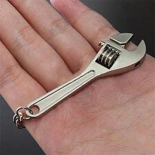 Mini Wrench Spanner Metal Pendant Trinket Keychain Key Ring Keyfob Keyring ifa