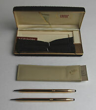 Vintage Cross 14K Gold Filled Pen & Pencil Set Excellent Unused Condition