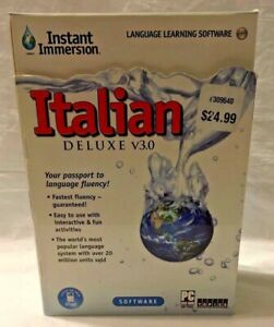 Italian Deluxe V3.0 Topics Entertainment Instant Immersion New