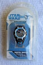 Star Wars Clone Wars Anakin Obi-Wan Kenobi F.A.B Digital NEW MISB Watch 2008