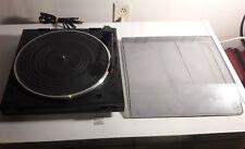 Audio-Technica Kenwood Turntable Lot AT-PL50 Kenwood P-3X Tested Vintage Bargain